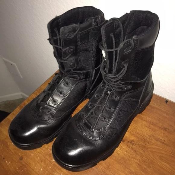 ba7cebb652e Bates Light Police Boots